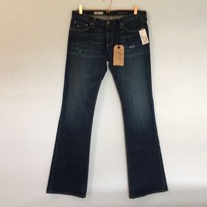 NWT AG Adriano Goldschmied 30 angel boot cut jeans